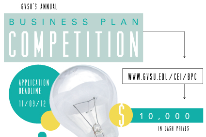 gvsu business plan competition logo